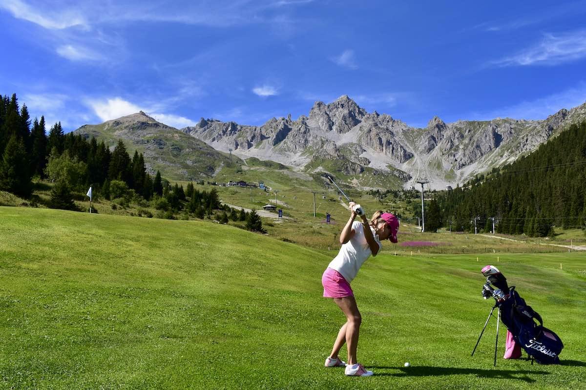Chalet Jardin d'Angèle | Chambre d'Hôtes Savoie leçon de golf