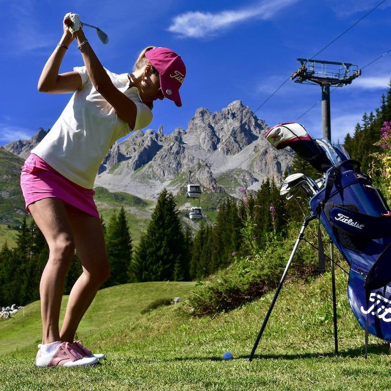 Chalet Jardin d'Angèle | Chambre d'Hôtes Courchevel stage de golf