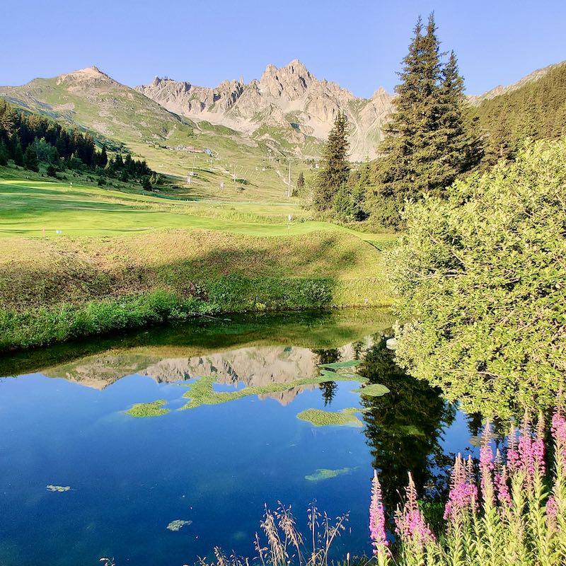 Chalet Jardin d'Angèle | Chambre d'Hôtes Courchevel golf montagne
