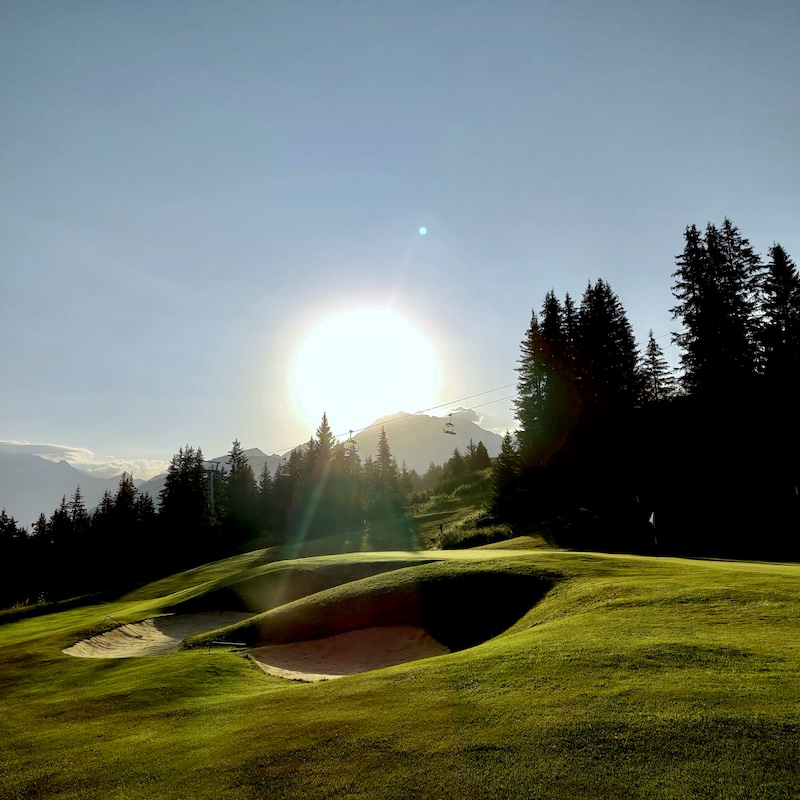 Chalet Jardin d'Angèle | Chambre d'Hôtes Courchevel golf 9 trous