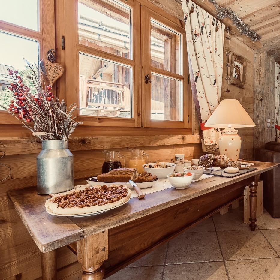 Chalet Jardin d'Angèle | Petits déjeuners gourmands