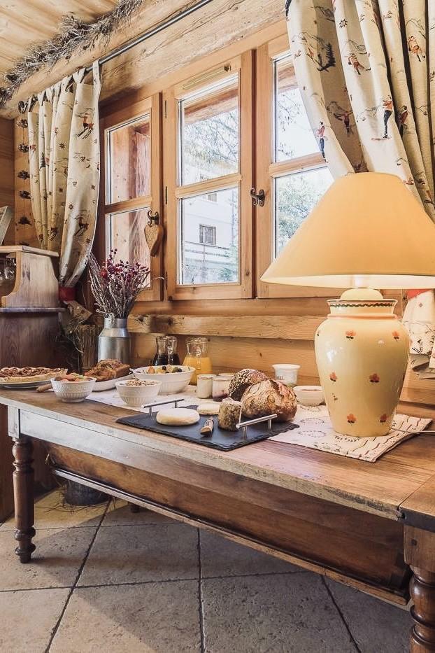 Chalet Jardin d'Angèle | Chambre d'Hôtes buffet