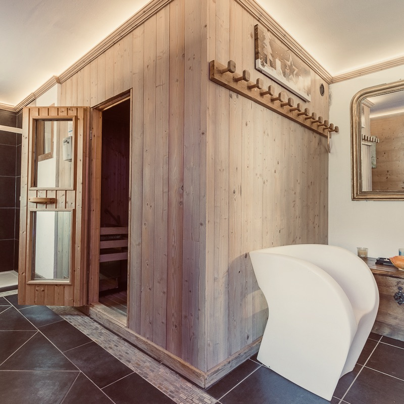 Chalet Jardin d'Angèle | Chambre d'Hôtes Courchevel sauna